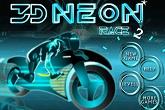 3D Neon Motor Race 2
